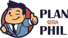 Plan with Phil Retina Logo